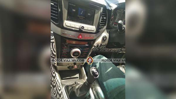 Mahindra S201 Interior Spied: Compact SUV Offering Expected To Launch Soon