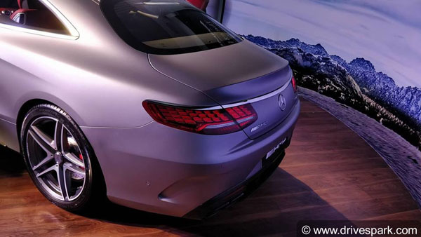 Mercedes-AMG S63 Coupe Launched In India At Rs 2.55 Crore — Combines Performance With Elegance