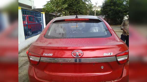 Tata Tigor Buzz Spied; Limited Edition Variant Expected To Launch Soon