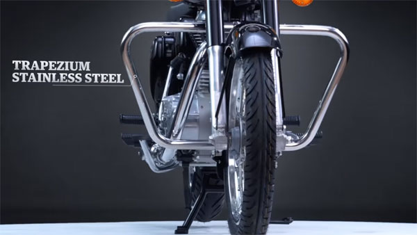 Royal Enfield Crash Guards: The Latest Crash Guards For The Royal Enfield Bullet Shown In New Video