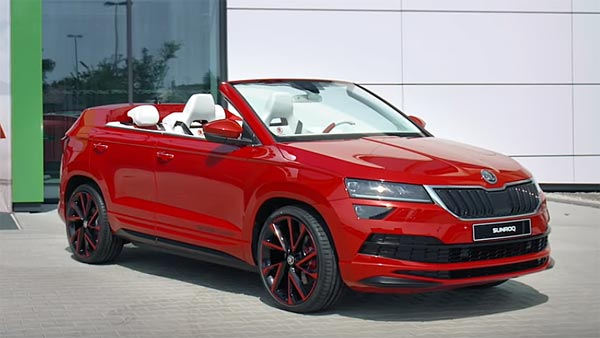 Skoda Sunroq Concept Revealed: One-Off Project By Skoda Vocational School Students