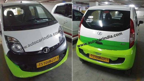 Tata Nano Electric Aka Jayem Neo Ev Spotted Details Images Of The