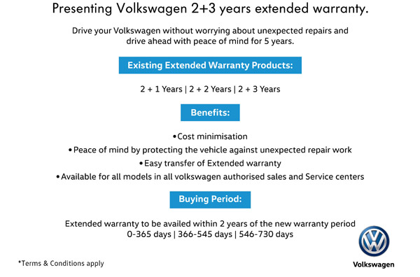 Volkswagen Extended Warranty & Service Packages: New Monsoon Plans From Volkswagen India