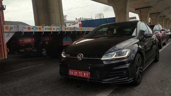 Volkswagen Golf GTD Spotted Testing In India: India-Launch Around The Corner?