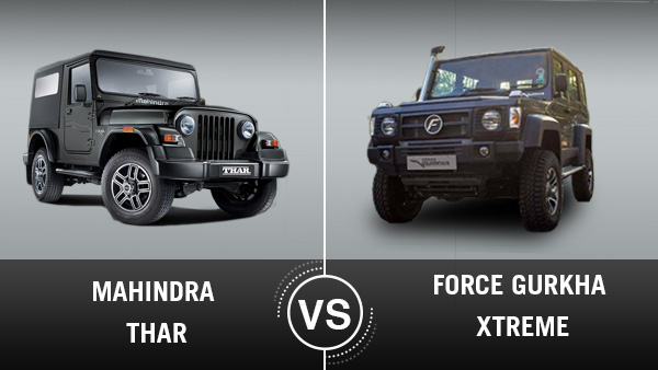 New Force Gurkha Xtreme Vs Mahindra Thar: Specifications, Features, Price & Design