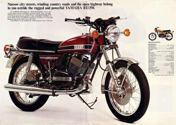 The Yamaha RD 350 — The Motorcycle Which Time Has Forgotten, But Enthusiasts Never Will!