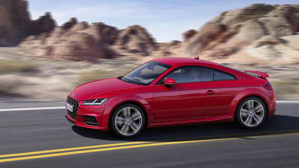 2018 Audi TT Facelift Revealed - Sportier Design And Comes With More Standard Kit