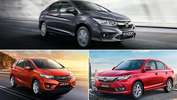 Honda City, Amaze, Jazz, WR-V Prices To Be Increased From August 2018