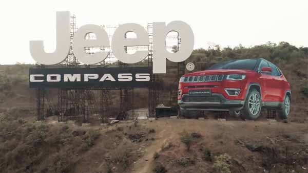 A Jeep Compass Ad On Mumbai-Pune Expressway Is The Largest Billboard In India