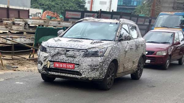 Mahindra S201 Compact-SUV Spied Testing Again