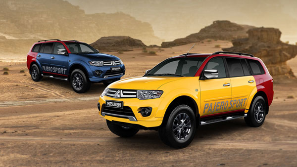 Mitsubishi Pajero Sport Splash With Custom Colour Options Launched In India