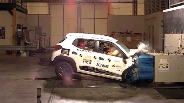 Renault Kwid ASEAN NCAP Crash Test Results Revealed  — Scores Zero-Star Rating