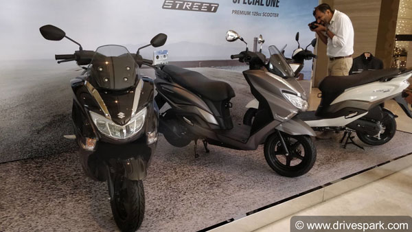 Suzuki Burgman Street launched in India at Rs 68,000