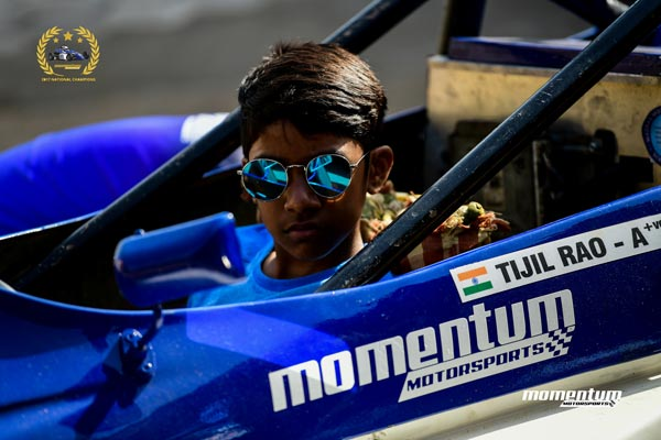 Tijil Rao — Youngest Racer In The 2018 National Racing Championships From Bangalore