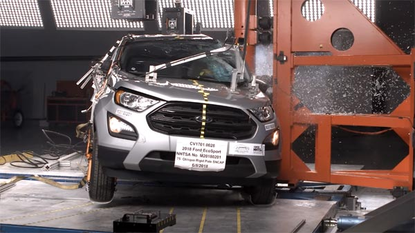 2018 Ford EcoSport Crash Test Results Revealed