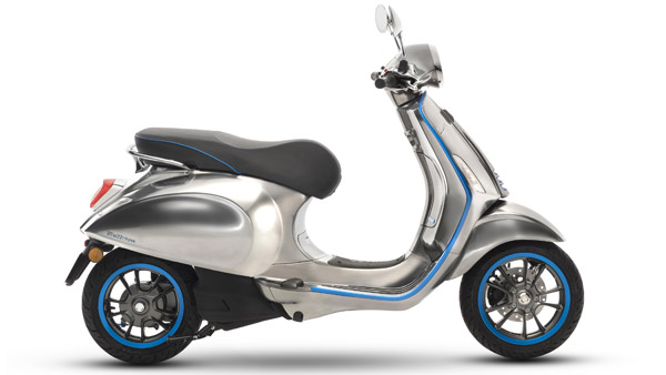 Piaggio Vespa Elettrica To Be The Brand's First Electric Scooter In India