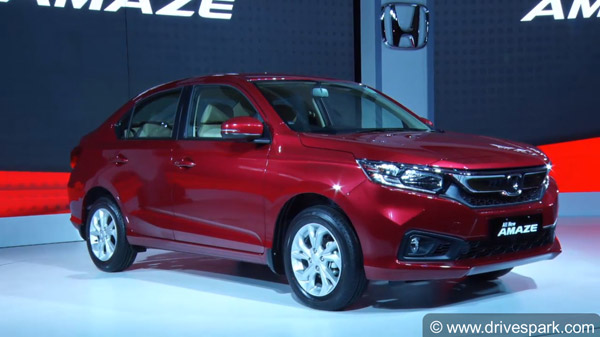 New Honda Amaze Recalled In India Over Power Steering Sensor Issue