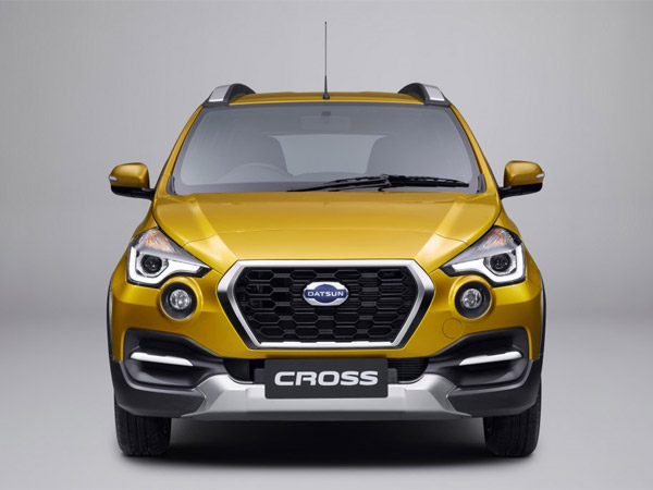 Datsun GO Cross Snapped While Testing In India