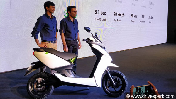 Hero MotoCorp To Invest Rs 130 Crore In Ather Energy