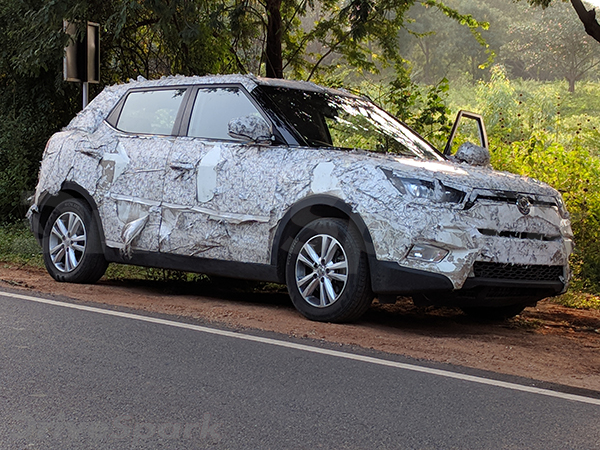 Mahindra S201 Spied Testing; Spy Images Showcase Production-Ready Headlamps