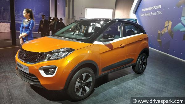 Tata Nexon AMT Launched With Mid-Spec XM Trim At Rs 7.50 Lakh: Specifications, Features And Images