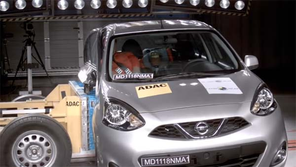 Nissan Micra Crash Test: NCAP Ratings & Video