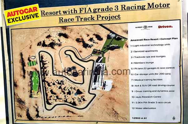 New Racetrack In Andhra Pradesh: FIA Grade-3 Circuit Named Amaravati Race Resort
