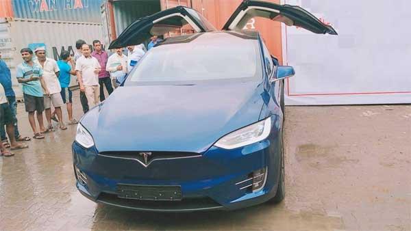 India's First Tesla Model X 100D Lands In Mumbai