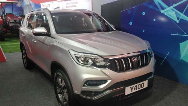 Mahindra XUV700 Revealed As Y400 — To Be Launched Soon