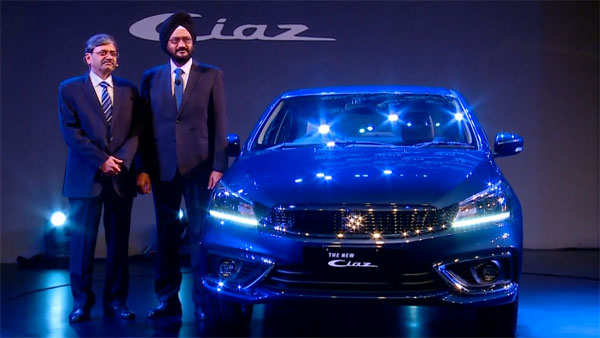 2018 Maruti Ciaz Facelift Launched In India At Rs 8.19 Lakh: Design, Specifications, Features, Mileage And Images