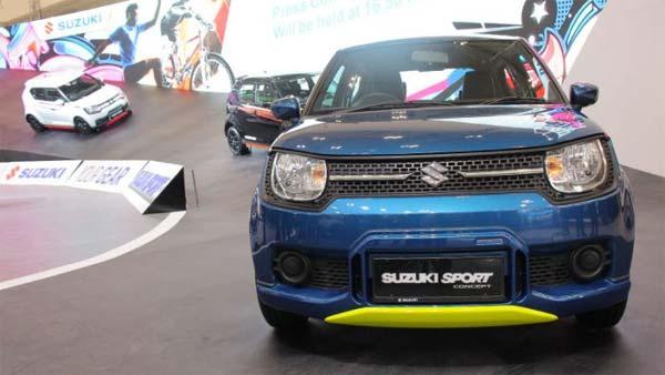 Suzuki Ignis Sport Concept Unveiled At 2018 Indonesia International