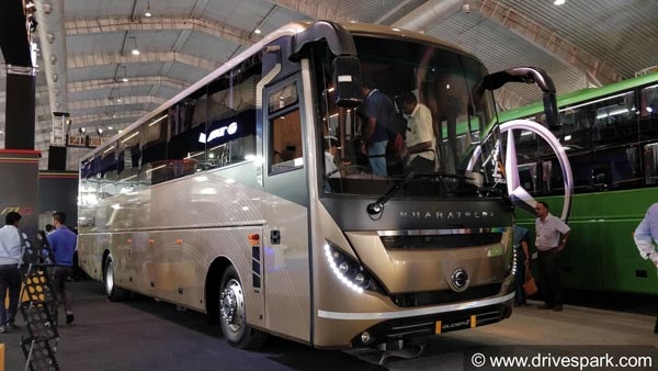 MG Group Launches Three New Luxury Buses At Bus World India 2018
