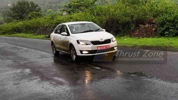 Skoda's New 1.0-Litre TFSI Turbocharged Petrol Engine Spied Testing In India