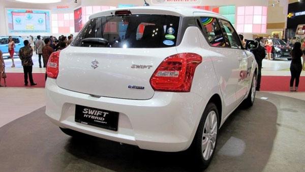 Suzuki Swift Strong Hybrid Showcased At 2018 GIIAS