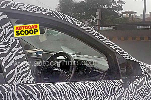 Tata 45X Hatchback Spotted Testing In India - Interior Revealed