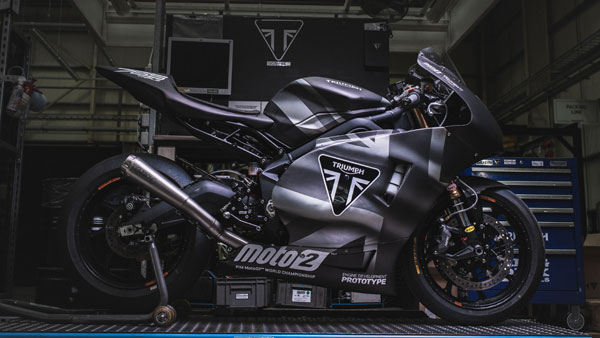 Triumph Unveils Moto2 Bike For 2019 Season - To Debut At British GP