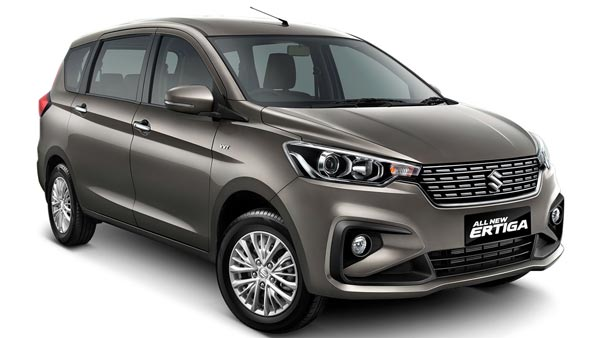 2018 Maruti Ertiga Facelift Spotted In India With Emission Testing Equipment