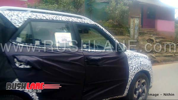 New Hyundai Carlino Based Sub-Compact SUV To Be Launched In India; Spotted Testing In India Ahead Of Launch