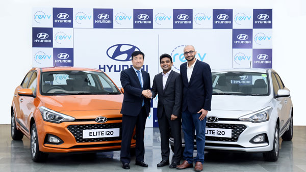 Hyundai India Aims To Develop Creative Mobility Solutions With Revv Car Sharing Company