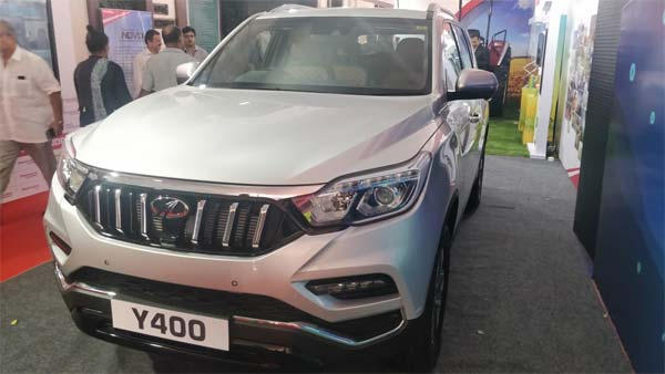 Mahindra XUV700 Revealed As Y400 - To Be Launched Soon