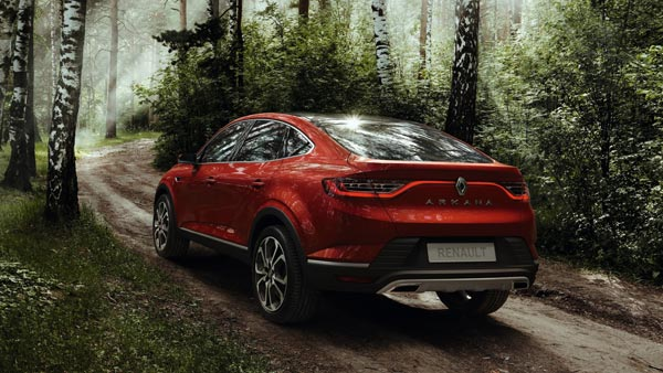 Renault Arkana Coupe-Crossover Unveiled At 2018 Moscow Motor Show