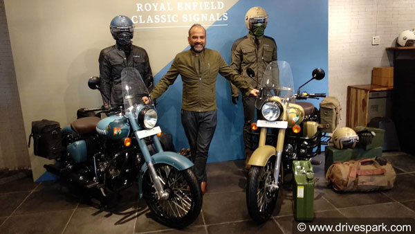 Royal Enfield Classic 350 Signals With ABS Launched In India At Rs 1.62 Lakh: Gets Stormrider Sand & Airborne Blue Colours