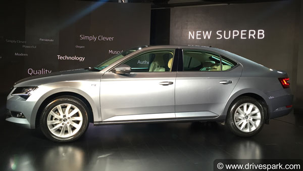 Skoda Superb Corporate Edition Launched In India At Rs 23.49 Lakh