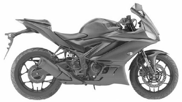 2019 Yamaha YZF-R3 Patent Images Leaked - Gets LED Headlights And USD Forks