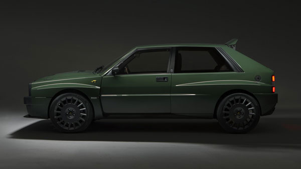 Automobili Amos Lancia Delta Integrale Futurista — A Promise To The Future Of Enthusiast Cars