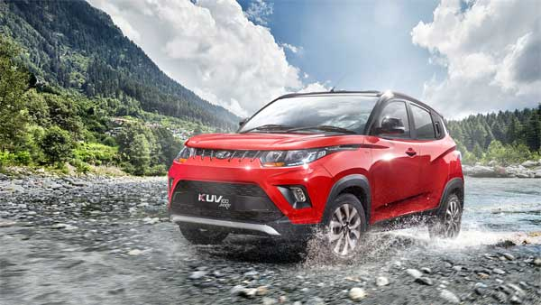 Mahindra KUV100 NXT AMT Variant Spotted Testing — Launch Soon