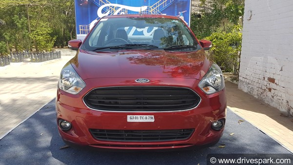 Ford Aspire Facelift Launch Date Revealed