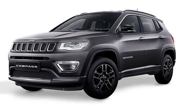 Jeep Compass Black Pack Edition Launched In India; Priced At Rs 20.59 Lakh