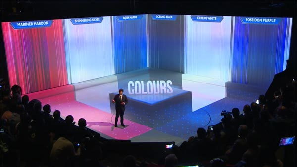 Six Vibrant Colours
