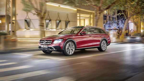Mercedes-Benz E-Class All-Terrain India-Launch On September 28 — The E-Class With Much More Real-Estate